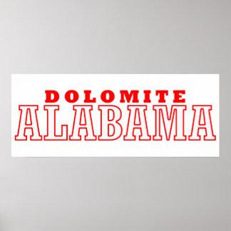 Dolomite, Alabama Poster