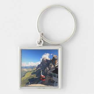 Dolomites - aerial view from Rosetta mount Keychain