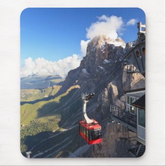 Dolomites - aerial view from Rosetta mount Mouse Pad