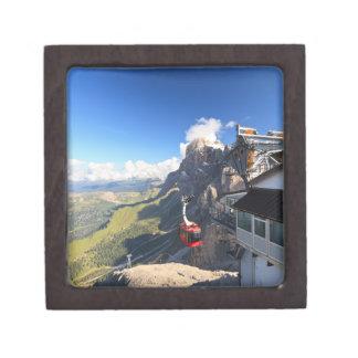 Dolomites - aerial view from Rosetta mount Premium Gift Box