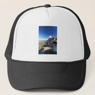 Dolomites - aerial view from Rosetta mount Trucker Hat