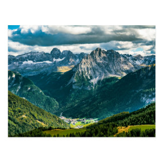 Dolomites alps,Italy Postcard