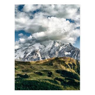 Dolomites alps, Italy Postcard