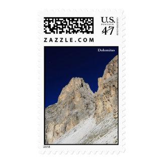 Dolomites at morning postage