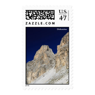 Dolomites at morning stamp
