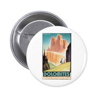 Dolomites Pinback Button