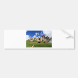 Dolomites - Cir group Bumper Sticker