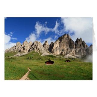 Dolomites - Cir group Card
