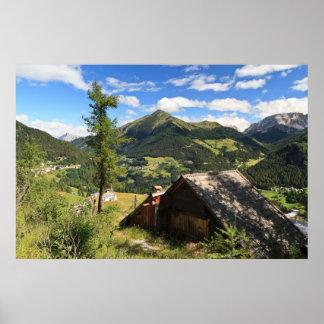 Dolomites - Cordevole valley Posters