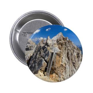 Dolomites - Costabella ridge Pinback Buttons