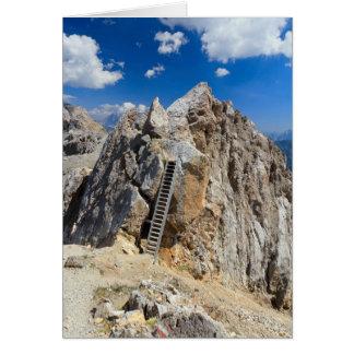 Dolomites - Costabella ridge Card