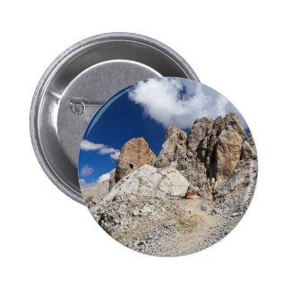 Dolomites - Costabella rock Button