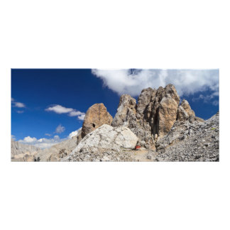 Dolomites - Costabella rock Rack Card