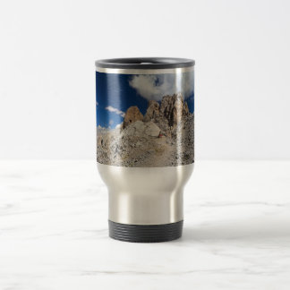 Dolomites - Costabella rock Travel Mug