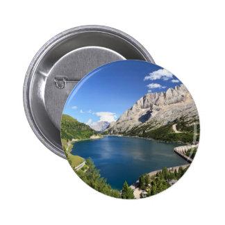 Dolomites - Fedaia lake and pass Pins