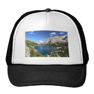 Dolomites - Fedaia lake and pass Trucker Hat
