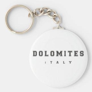 Dolomites Italy Keychain
