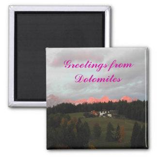 Dolomites magnet
