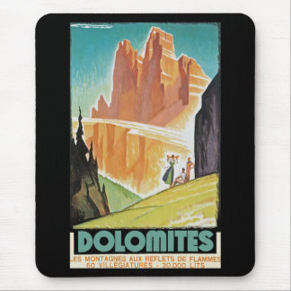 Dolomites Mouse Pad