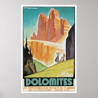Dolomites Print