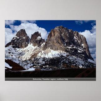 Dolomites, Venetian region, northern Italy Posters