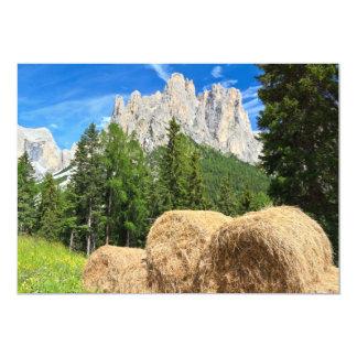 Dolomiti - alpine pasture announcement
