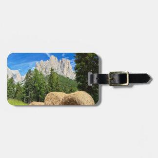 Dolomiti - alpine pasture luggage tags