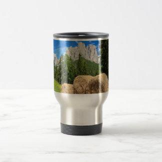 Dolomiti - alpine pasture travel mug