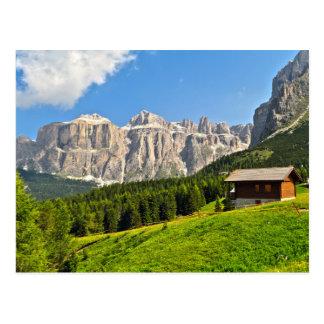 Dolomiti - alto valle de Fassa Postal