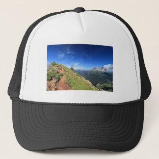 Dolomiti -  belvedere over Fassa Valley Trucker Hat