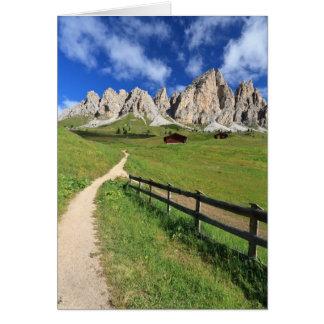 Dolomiti - Cir group Card