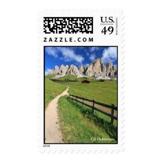 Dolomiti - Cir group Stamps
