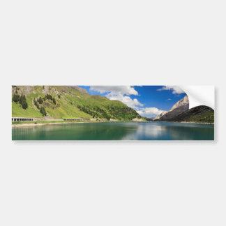Dolomiti - Fedaia lake Bumper Sticker