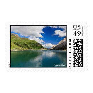 Dolomiti - Fedaia lake Postage