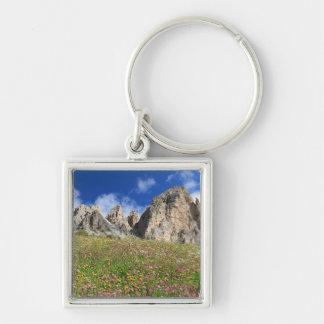 Dolomiti - flowered meadow keychain