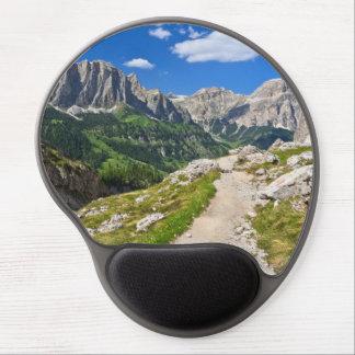 Dolomiti - footpath in Val Badia Gel Mouse Pad