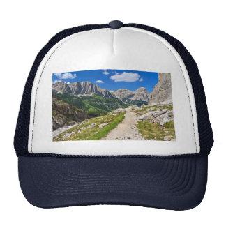 Dolomiti - footpath in Val Badia Hats