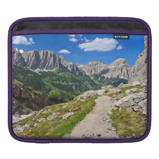 Dolomiti - footpath in Val Badia Sleeve For iPads