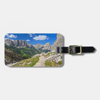 Dolomiti - footpath in Val Badia Tags For Bags