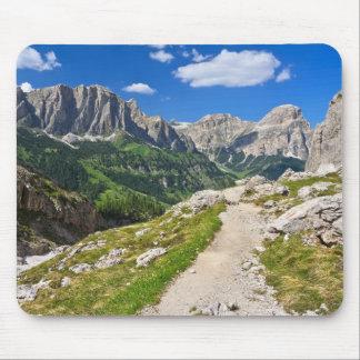 Dolomiti - footpath in Val Badia Mouse Pad