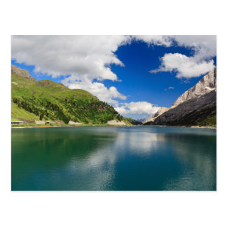 Dolomiti - lago Fedaia Postal