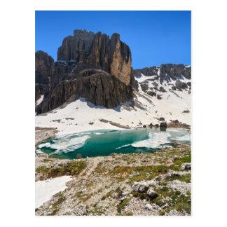 Dolomiti - lago Pisciadu Postal