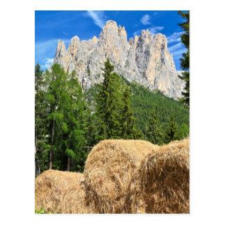Dolomiti - pasto alpino postal