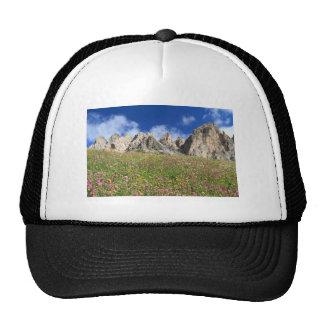 Dolomiti - prado florecido gorros bordados