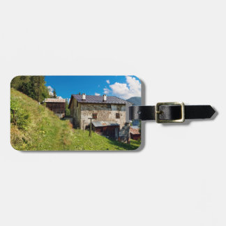 Dolomiti - Ronch village Tag For Luggage