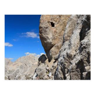 Dolomiti, Sasso di Costabella - roca de Costabella Postal