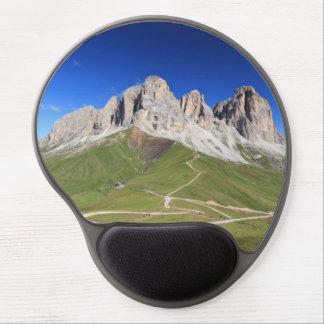 Dolomiti - Sassolungo mount Gel Mouse Pad
