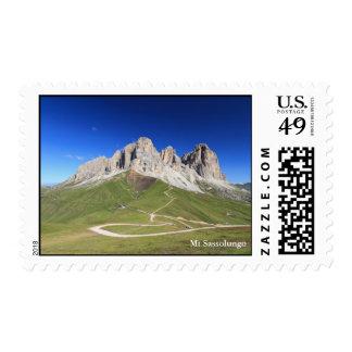 Dolomiti - Sassolungo mount Stamps