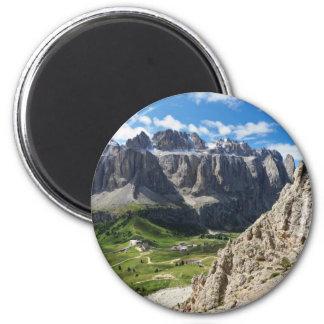 Dolomiti - Sella group and Gardena pass Magnet