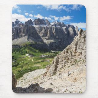 Dolomiti - Sella group and Gardena pass Mouse Pad